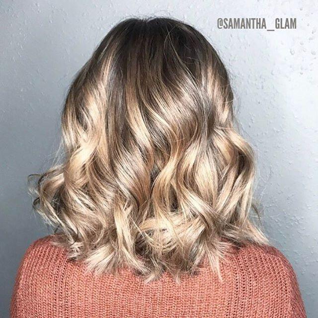 Medium bob hair with ringlets
