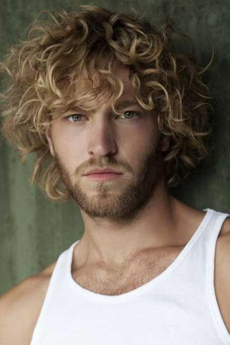 Beach Curls Men Hairstyles