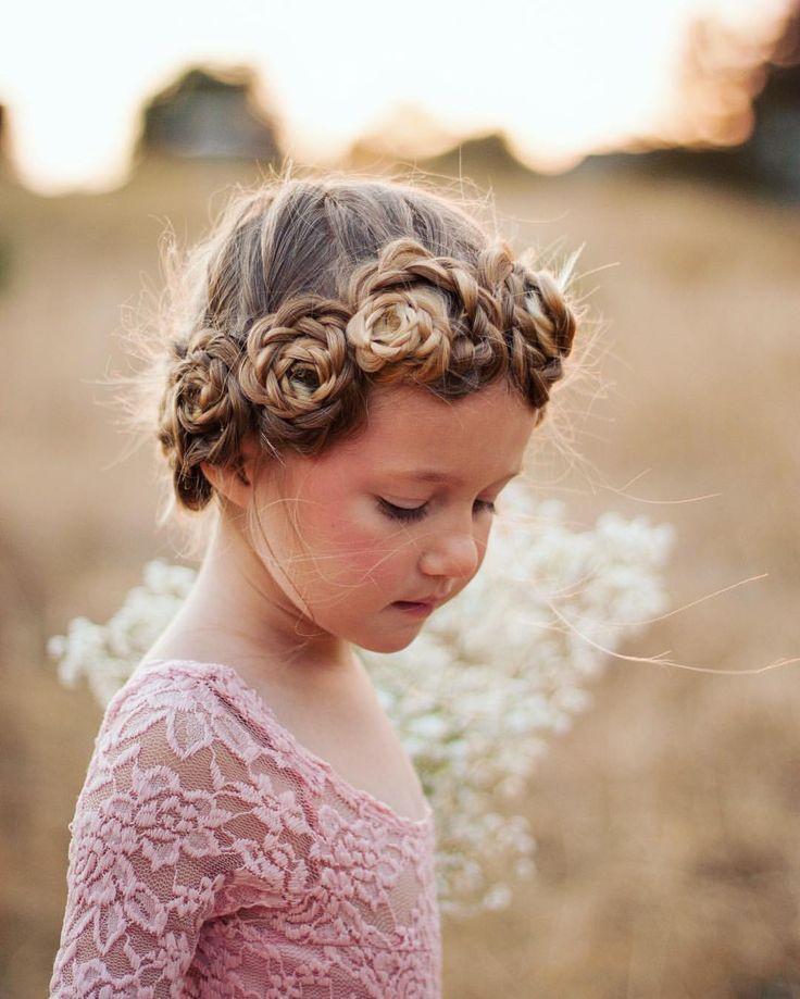 The Flower Braid Girls Hairstyles