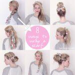 How To Do Hair Scarf Wraps